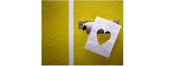 Cambiare il rotolo della carta igienica al meglio