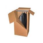 Baule armadio in cartone per traslochi
