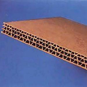scatola di cartone a tre onde