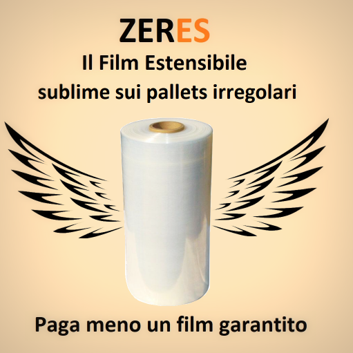 Film estensibile macchinabile zeres