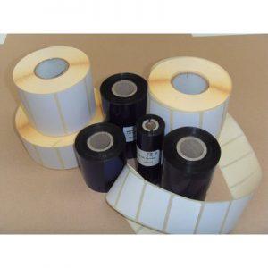 Kit etichette e ribbon per stampanti