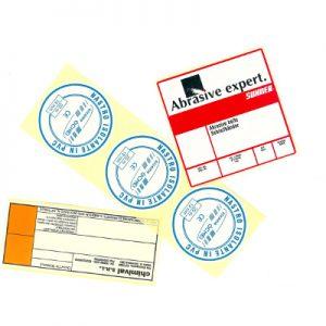 Etichette stampate in serigrafia