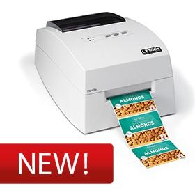 Stampante per etichette a colori
