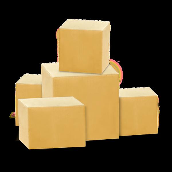scatole in cartone pronte a magazzino Torino