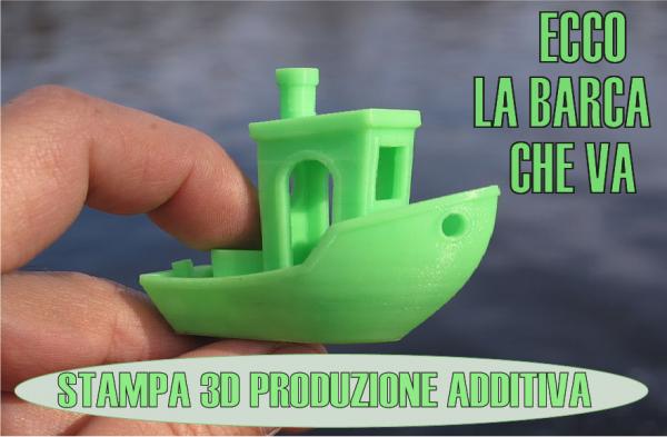 Stampa in 3D: Ecco la barca che va