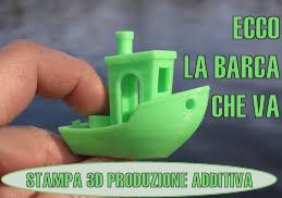 Stampa 3D produzione additiva