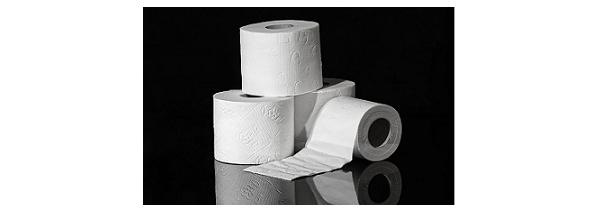 Carta igienica in cellulosa vergine