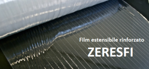 Fiber film film estensibile trasparente manuale rinforzato zeresfi