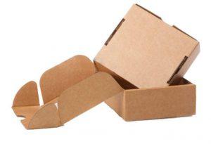 imballaggi: scatola fustellata