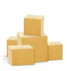 scatole da imballo in cartone