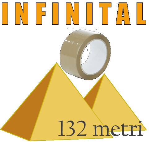 nastro adesivo 132 mt