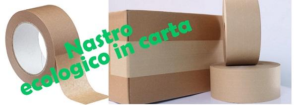 Nastro ecologico in carta per imballaggio