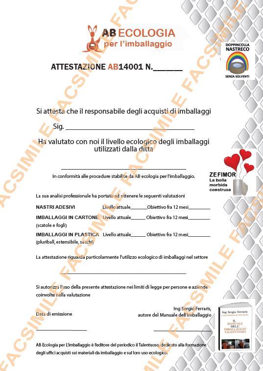 certificazione ecologico
